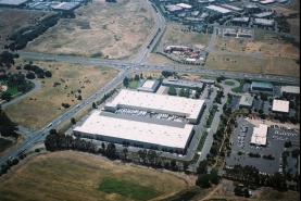 Aerial - Napa Valley Crossroads